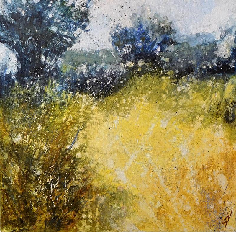 acrylic on canvas 40x40