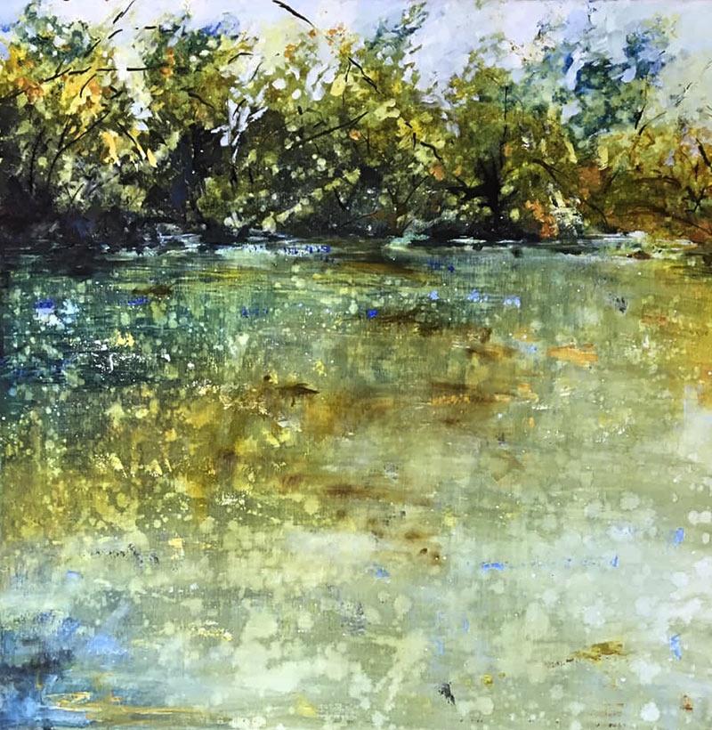 acrylic on canvas 60x60